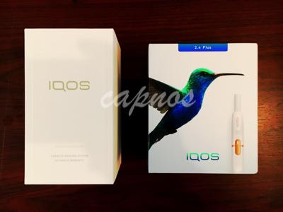 アイコス2.4plusとアイコス3のパッケージ