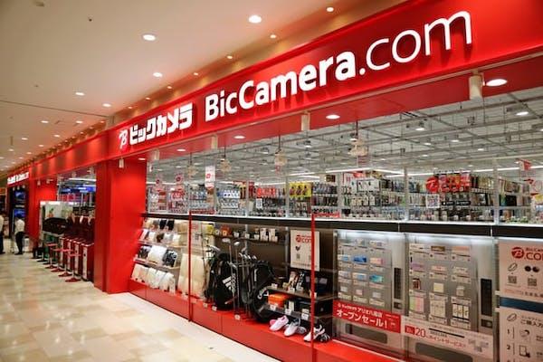 ビックカメラ店舗