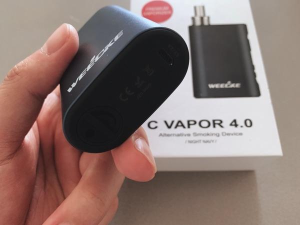c-vapor4の充電口