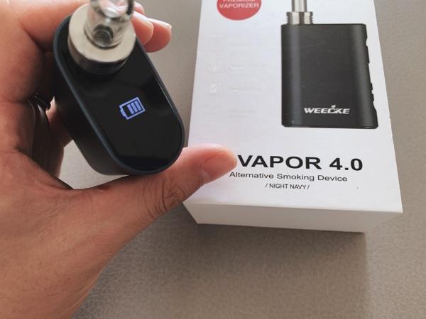 c-vapor4のバッテリー残量確認